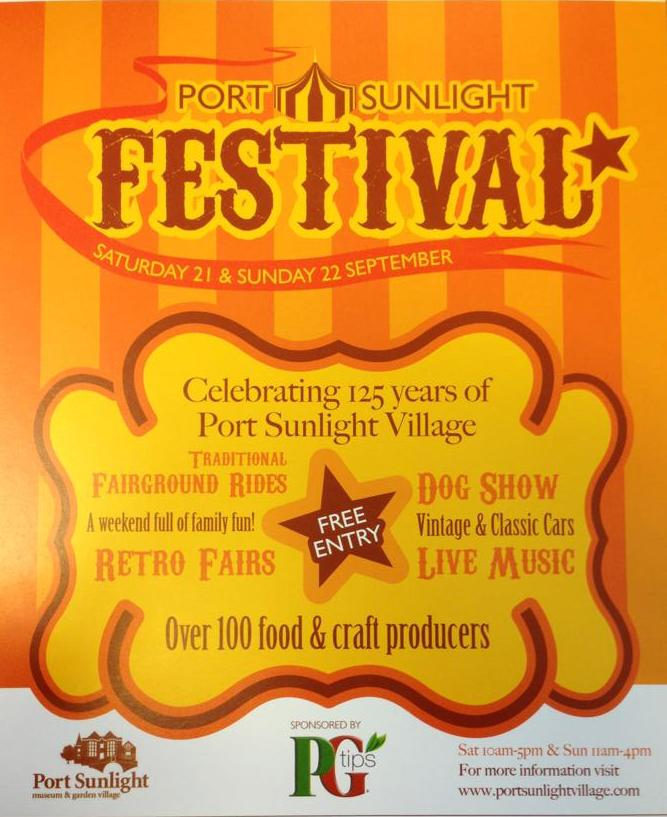 Port Sunlight Festival Flyer