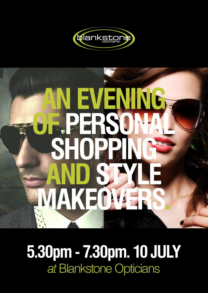 WR_blackstone optician_personal shopping night_postcard