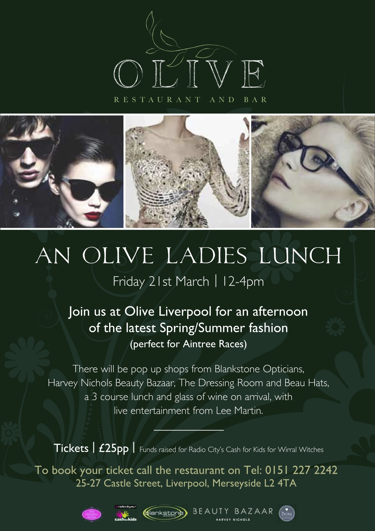 A4 Olive Lvp Ladies Lunch